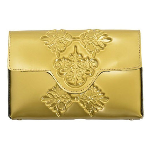 MeDusa Mini Clutch Gold