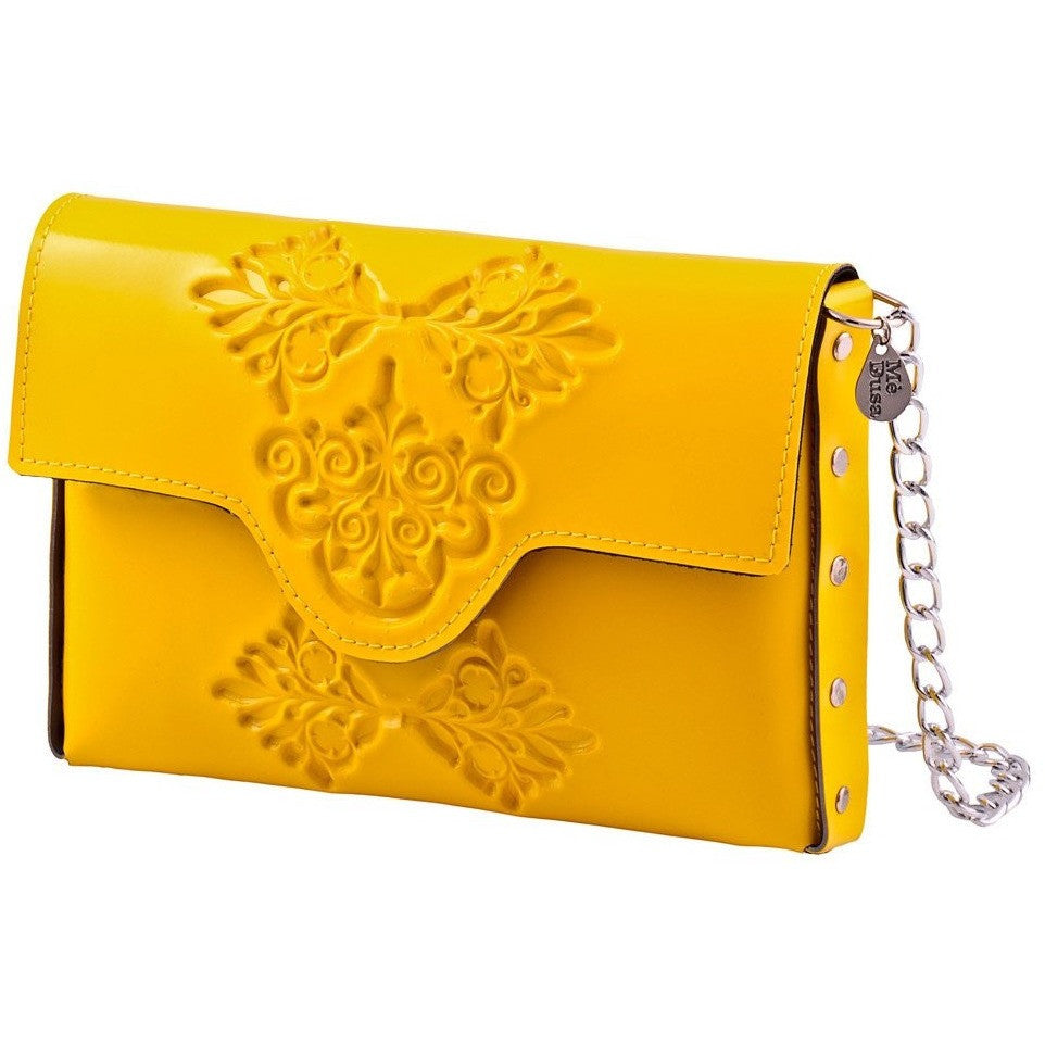 MeDusa Mini Clutch Yellow