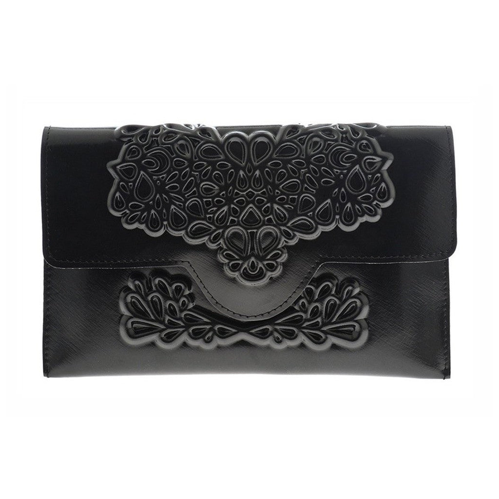 MeDusa Slim Clutch Black
