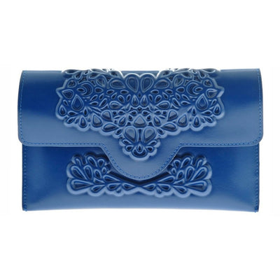 MeDusa Slim Clutch Blue