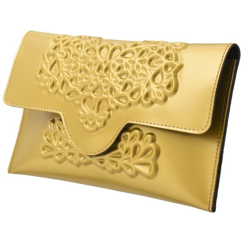 MeDusa Slim Clutch Gold