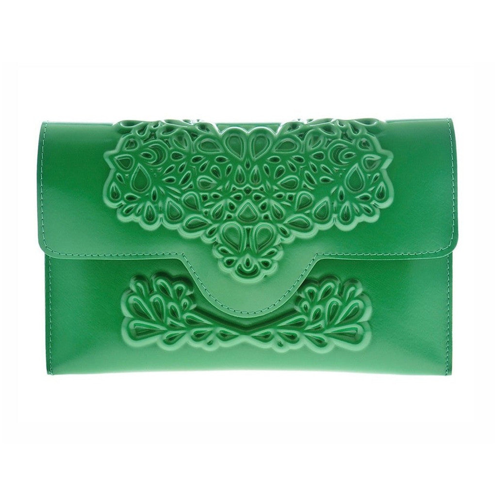 MeDusa Slim Clutch Green