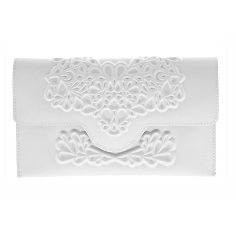 MeDusa Slim Clutch White