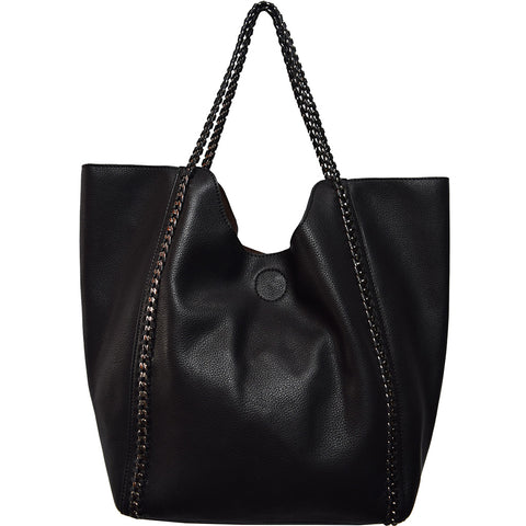 Street Level vegan tote, vegan handbag