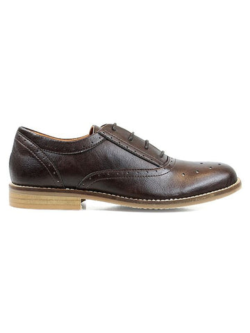Will's vegan Perforated Oxfords shoes brown