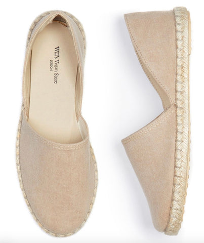 Will's Vegan Recycled Espadrilles Dusty Pink