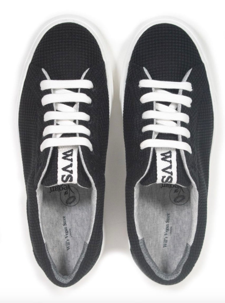 Will's Vegan LDN Biodegradable Sneakers Black