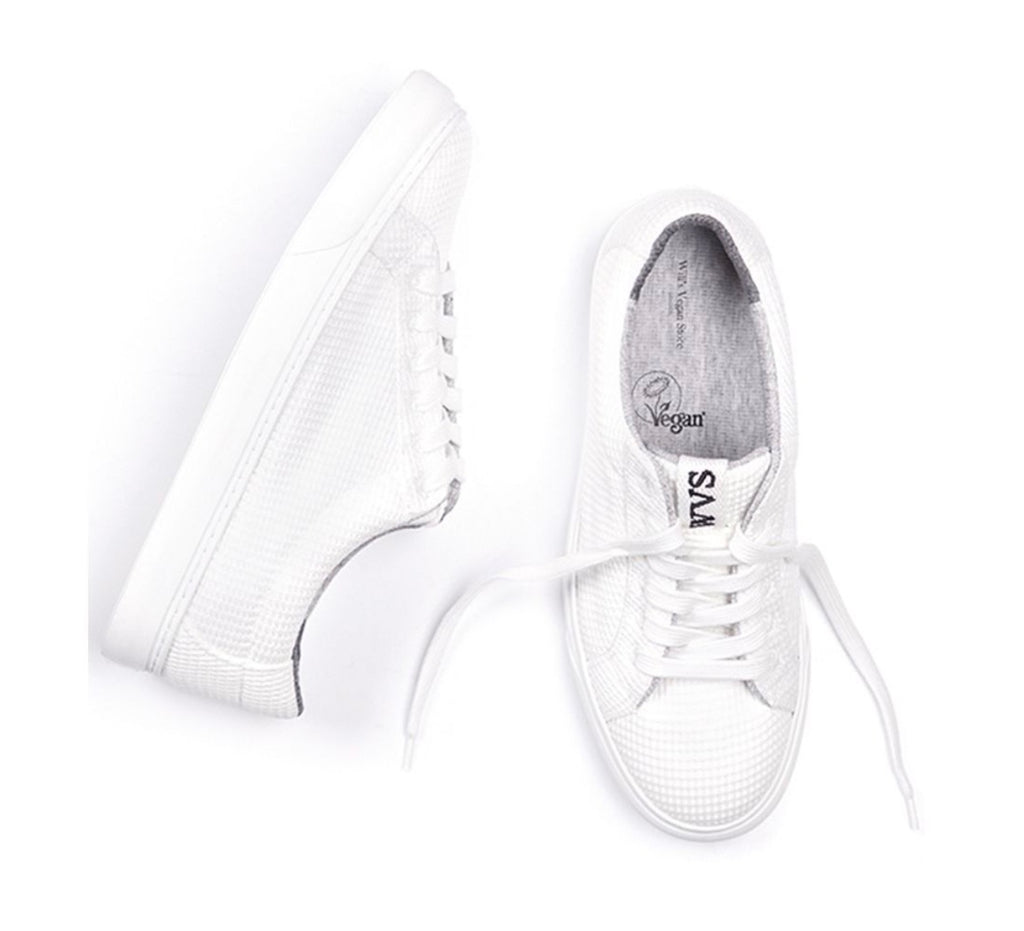 Will's Vegan LDN Biodegradable Sneakers White