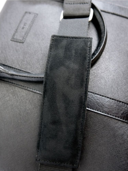 Will's Vegan Slim Briefcase Black