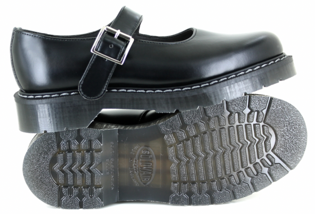 Vegetarian Shoes Airseal Mary Jane Black