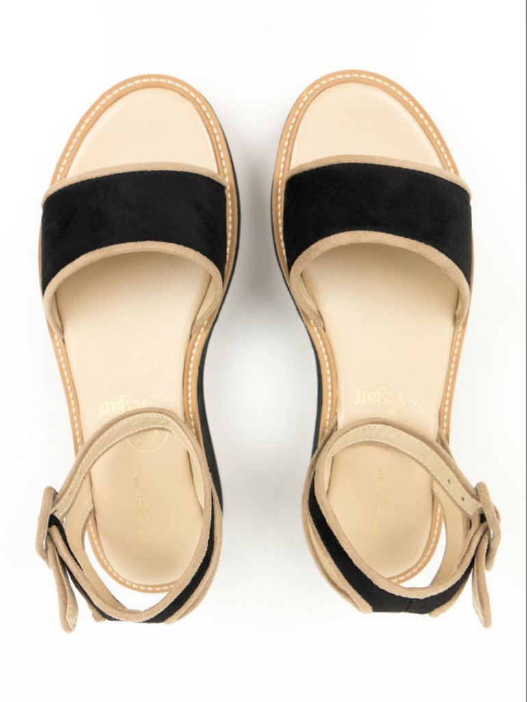 Will's Vegan Sandals Black