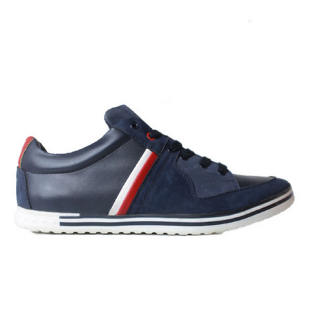 Will's Vegan Shoes Rome Trainers Navy