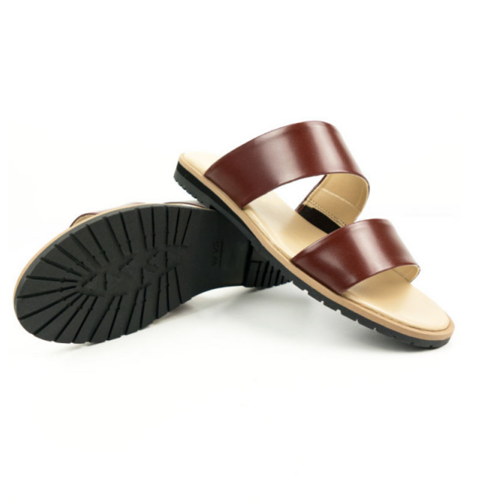 Will's Vegan Shoes Two Strap Sandals Brown size EU 36 - sale