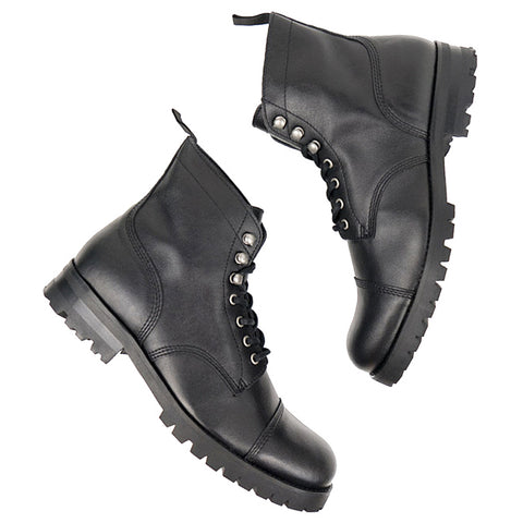 Will's Vegan Work Boot Black