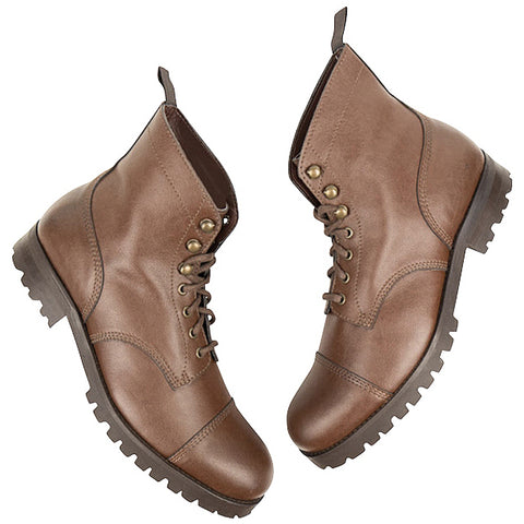 Will's Vegan Work Boot Chestnut