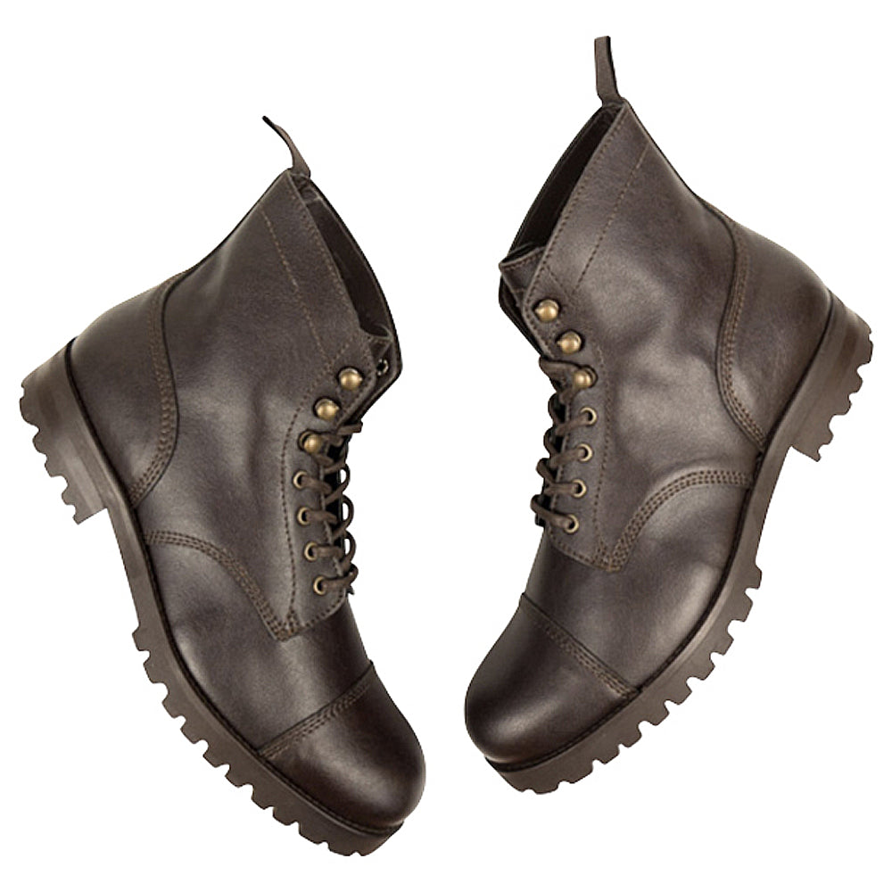 Will's Vegan Work Boot Dark Brown