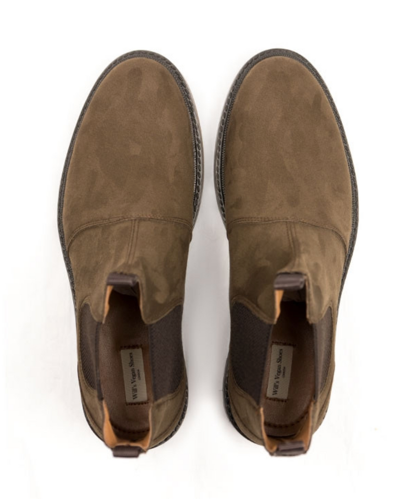 Will's Vegan Continental Chelsea Boot Brown