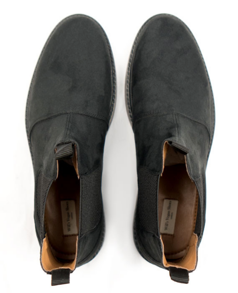 Will's Vegan Continental Chelsea Boot Black
