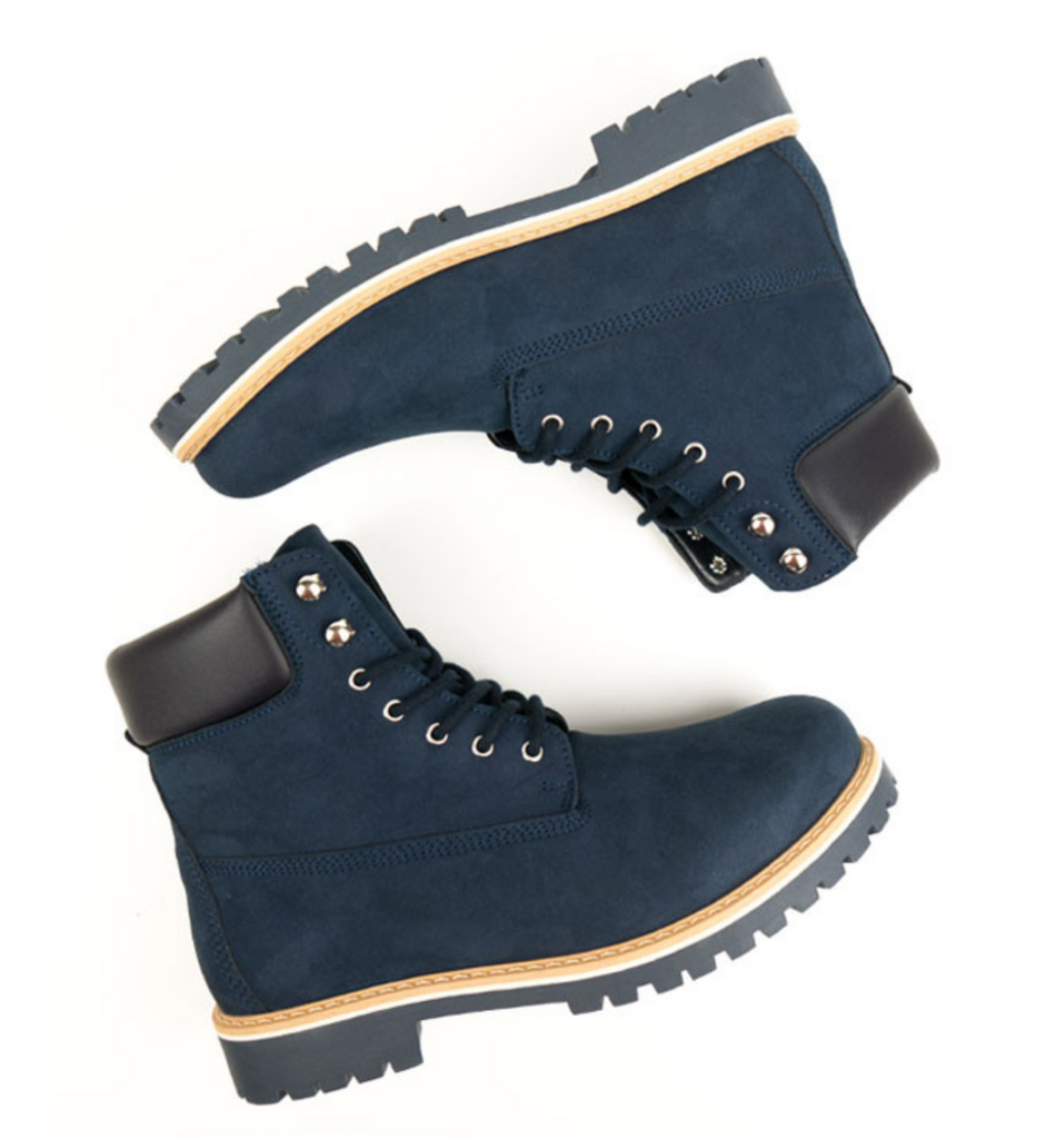 Will's Vegan Women's Dock Boots Dark Blue size EU 40 - sale