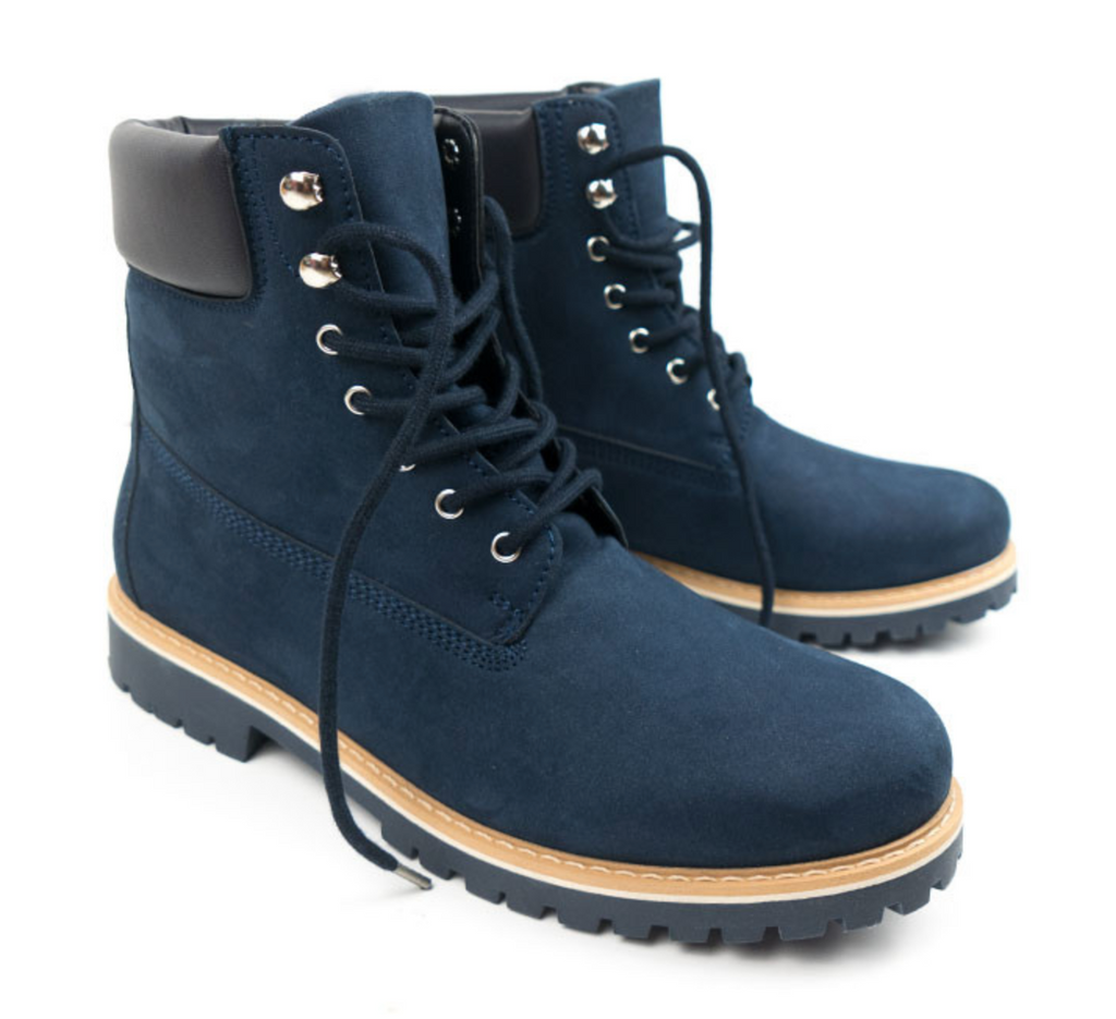 Will's Vegan Dock Boots Dark Blue
