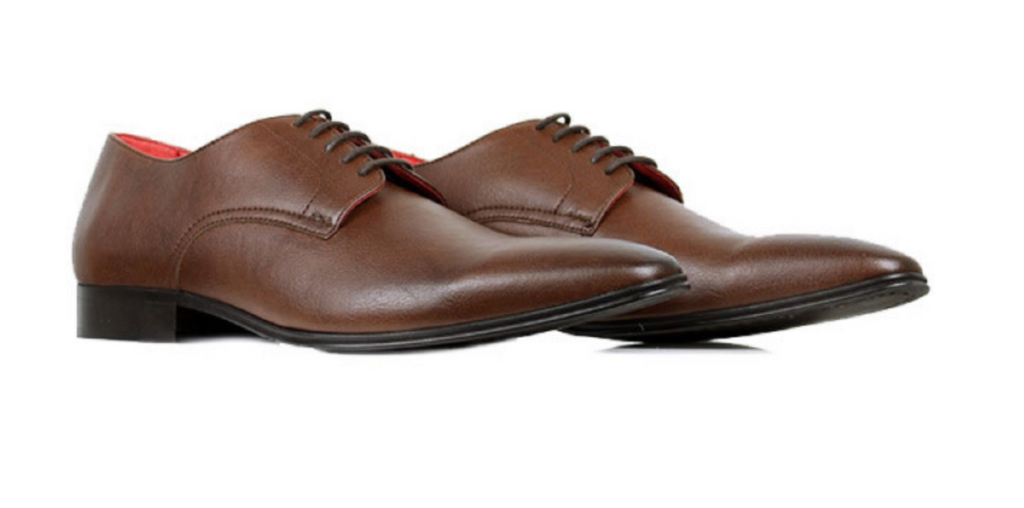 Will's Vegan Shoes Slim Soles Chestnut