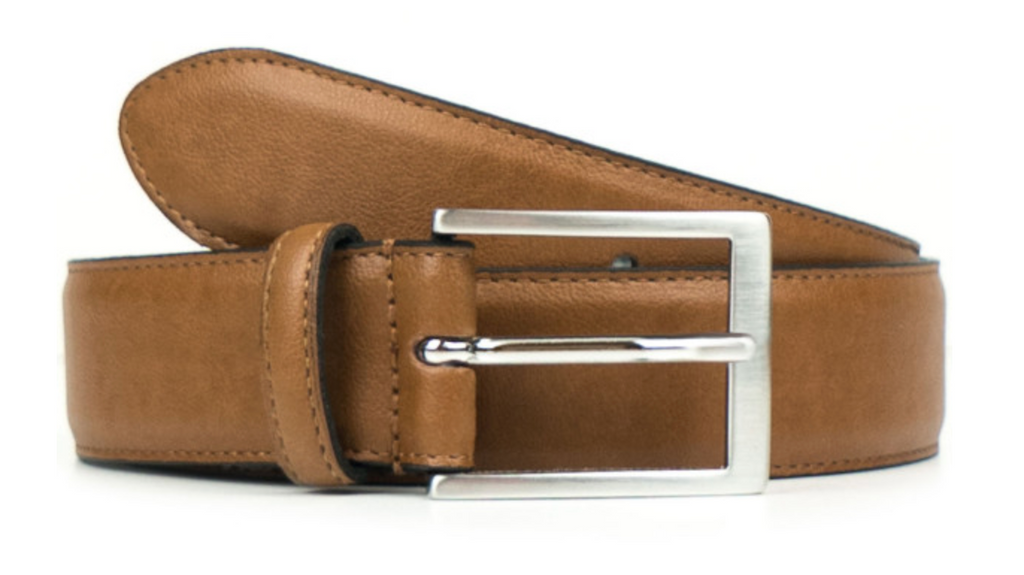 Will's Vegan Classic 3.5cm Belt Tan