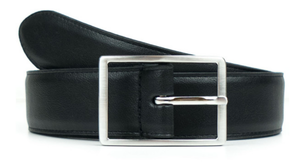 Will's Vegan Geometric 3.5cm Belt Black