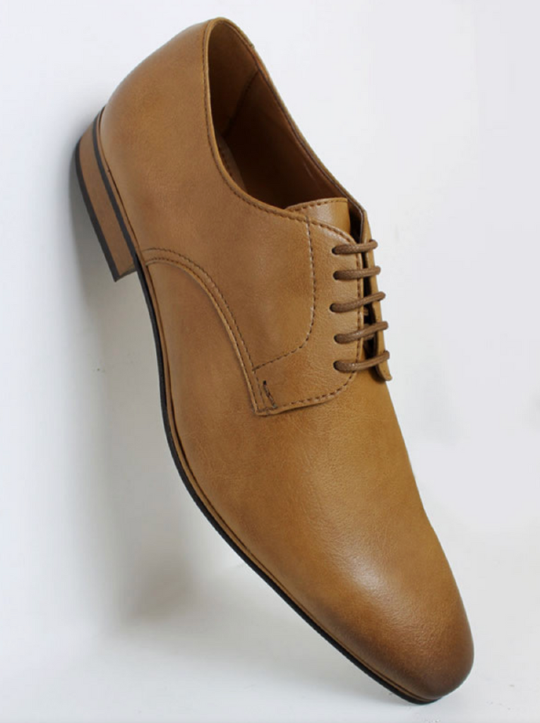 Will's Vegan Shoes Slim Soles Tan