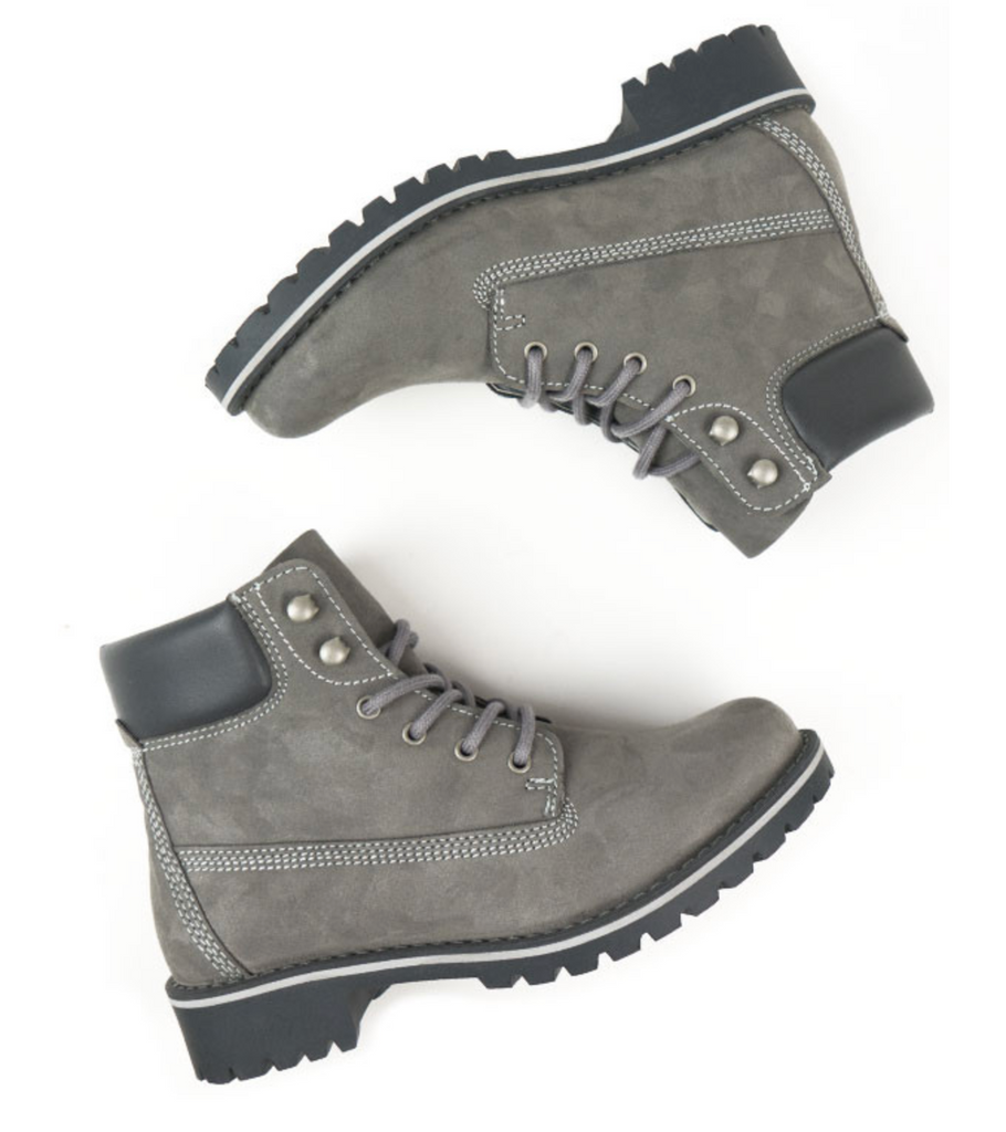 Will's Vegan Dock Boots Grey
