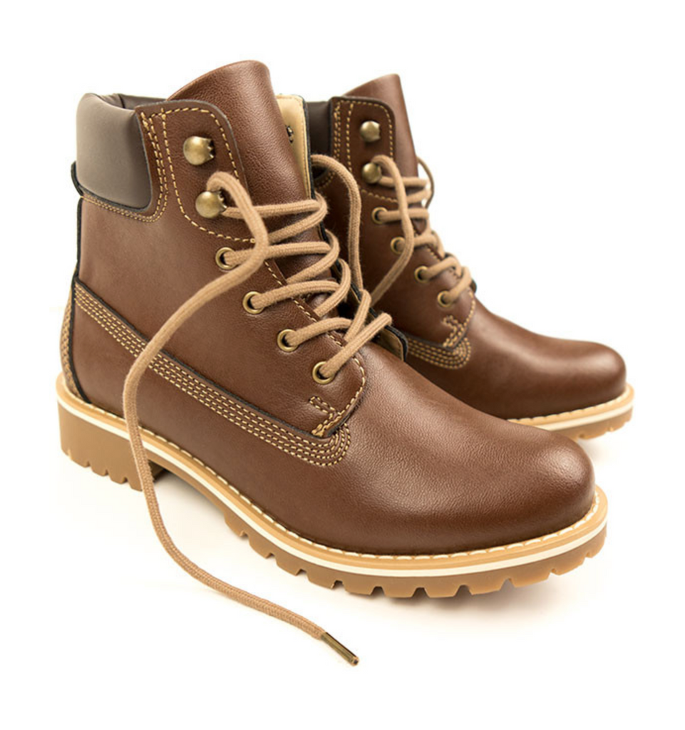 Will's Vegan Dock Boots Chestnut