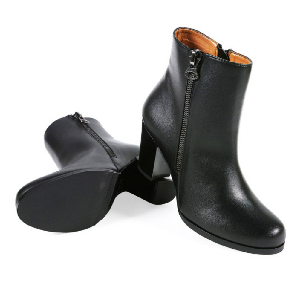 Will's Vegan Shoes Quarter Length Boots