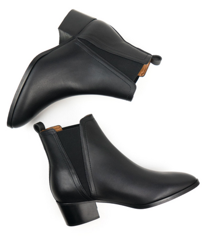 Will's Vegan Shoes Point Toe Chelsea Boots