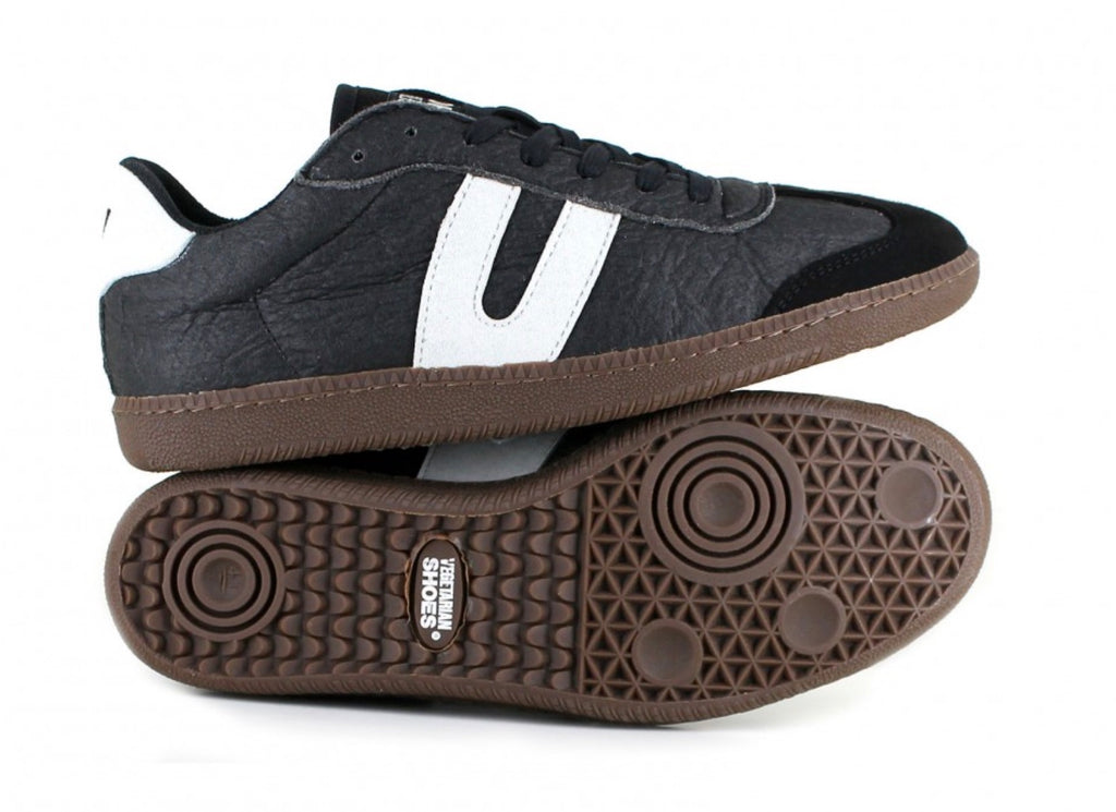 Vegetarian Shoes Cheetah Trainer Pineapple Black unisex sizes 42 and 43 - sale