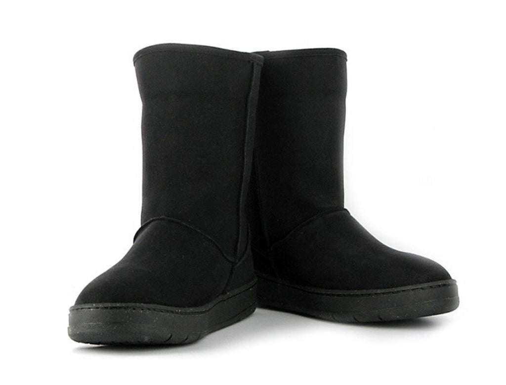 Vegetarian Shoes Snug Boot Black