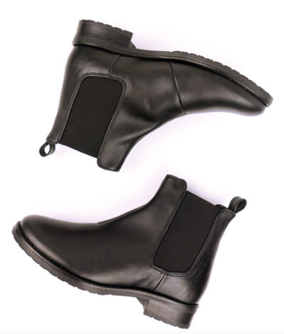 Will's Vegan Smart Chelsea Boot Black