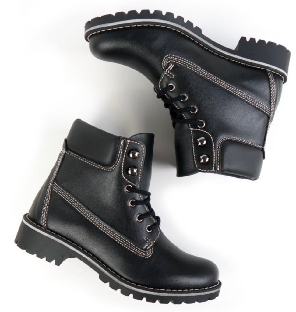 Will's Vegan Dock Boots Black