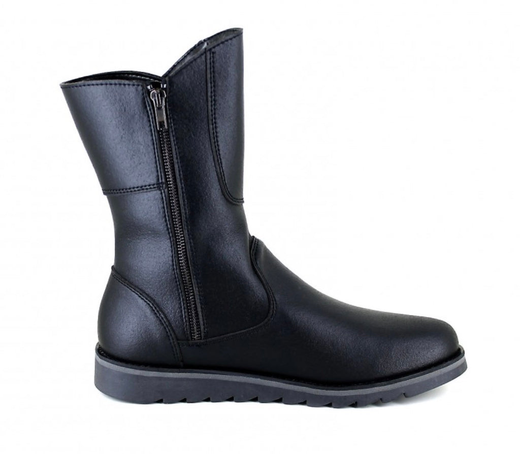 Vegetarian Shoes Action Boot Low Black