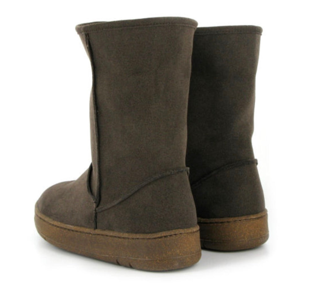 Vegetarian Shoes Snug Boot Brown