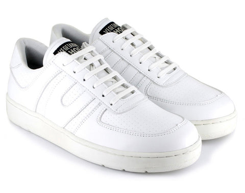 Vegetarian Shoes Veg Supreme Lo Top White