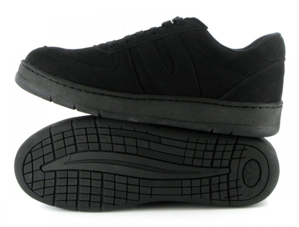 Vegetarian Shoes Veg Supreme Lo Top Black