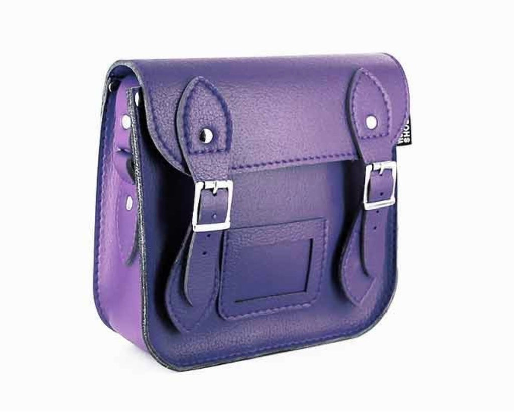 Vegetarian Shoes Vegan Mini Satchel Purple