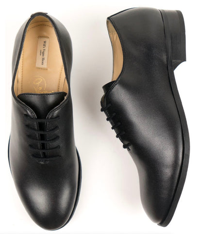 Will's Vegan Shoes City Oxfords Black