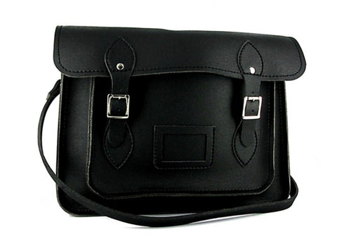 Vegetarian Shoes Satchel Black