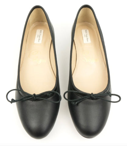 Will's Vegan Shoes Ballerina Flats Black - sale