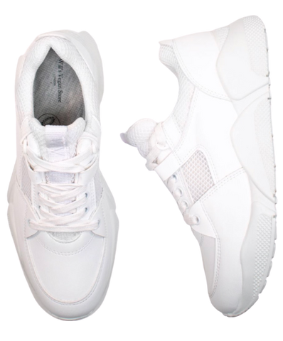 Will's Vegan Chicago Low Tops White