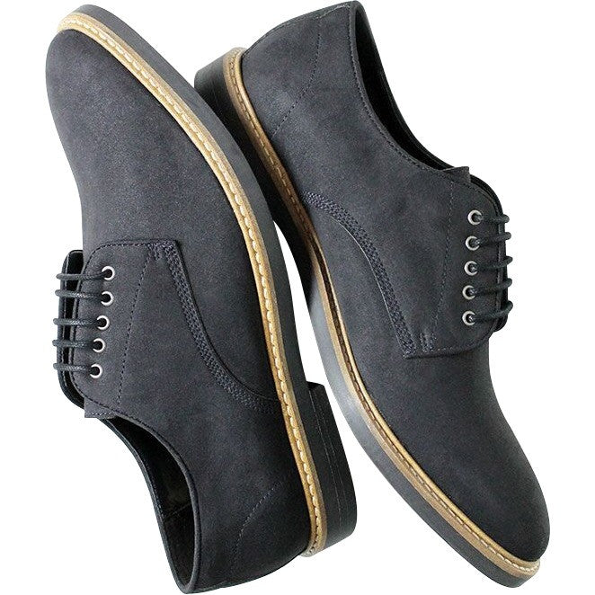 Will's Vegan Shoes Signature Derbys Dark Blue
