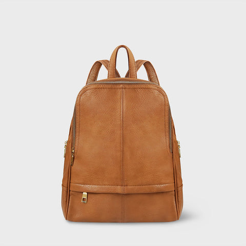 The Lovely things UK Vegan Backpack camel