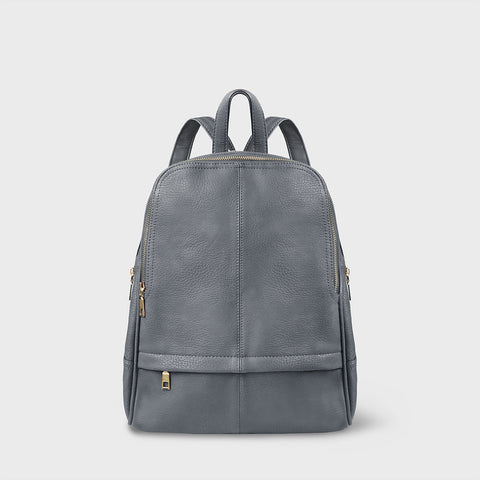 The Lovely Things UK Vegan Backpack Grey