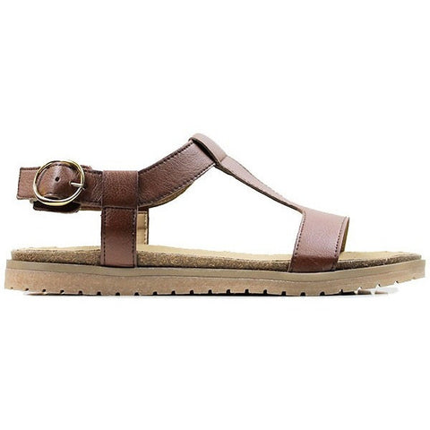 Will's Wills vegan sandals shoes Footbed chestnut