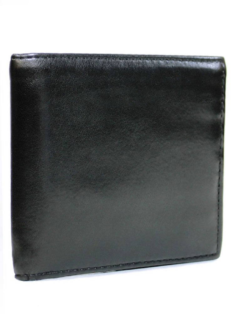Will's Bifold Coin Wallet Black
